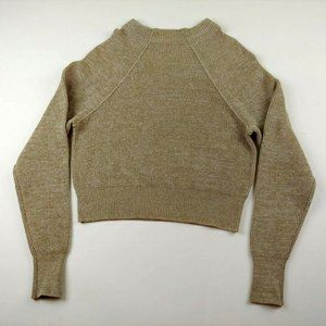 Free People Women's Sweater Cropped Long Sleeve Sc
